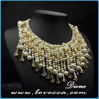 Romantic Indian Artificial Crystal Necklace Jewellery