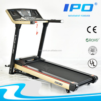 2015 popular home gym equipment fashion Appearance high quality powerful motor long belt Apple style design home treadmill