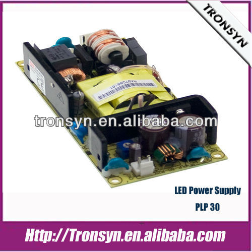 MeanWell Power Supply PLP-30-12(30W / 12V) Single Output Constant Current/Constant Voltage LED Power Supply/LED Driver