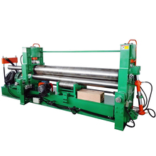 W11S hydraulic 3 rolls small sheet roller bending machine