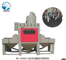 conveyor-type glass sandblasting & engraving machine automatic blasting equipment