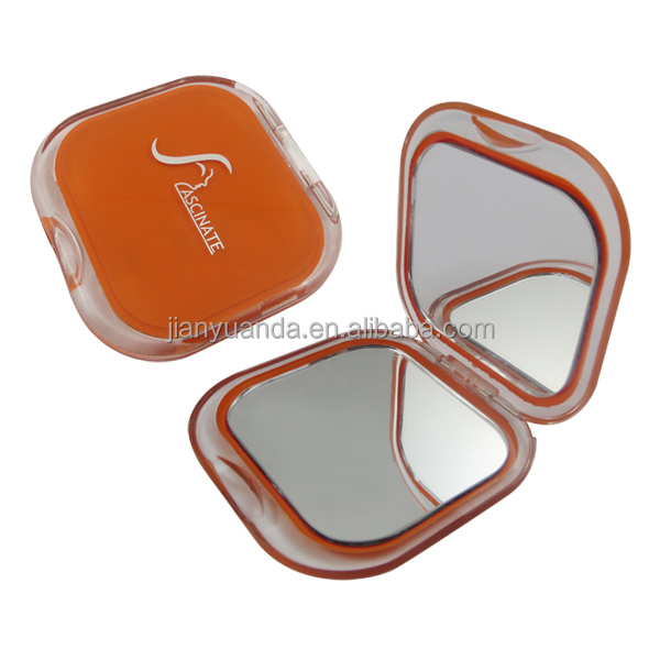 cute pocket mirrors ladies compact make-up mirror