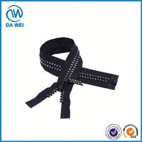 TOP GRADE!! Latest Fancy Different Types plastic/vislon/resin/delrin slider zipper