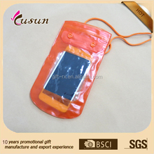 Hot Sale pvc Cheap Waterproof Mobile Phone bag For Iphone 6
