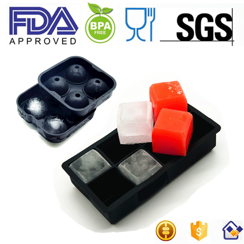BPA Free Silicone Ice Cube Trays, Custom Ice Cube Tray, Personalized Ice Cube Tray