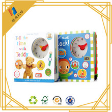 Wholesale cheap price hard cover book printing,cardboard kid book prinitng for children