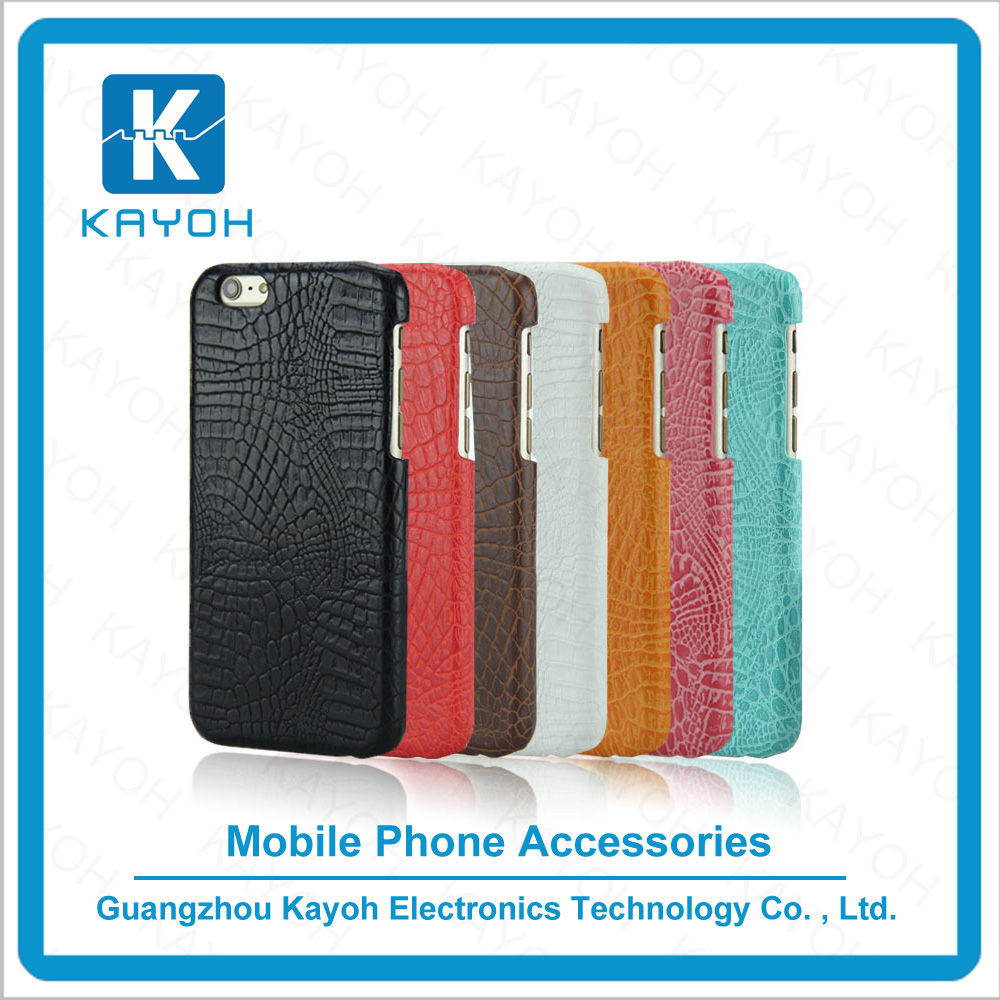 [kayoh] phone accessories for iPhone 5 unique case with crocodile dermatoglyph