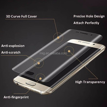 HD Clear Soft PET Full Cover Curved film Screen Protector For Samsung Galaxy S7 Edge or for S7