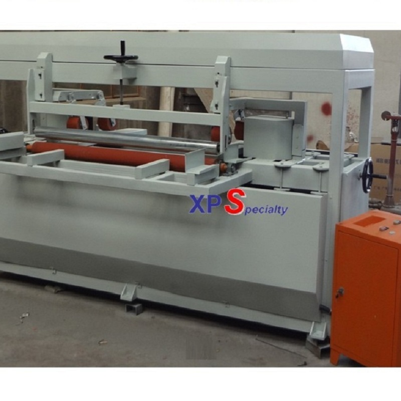 XPS foam board line edge forming machine