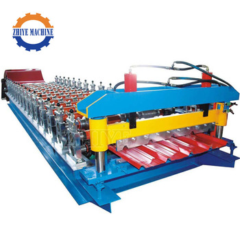 Color Coated Steel PPGI Sheet Roll Forming Machine
