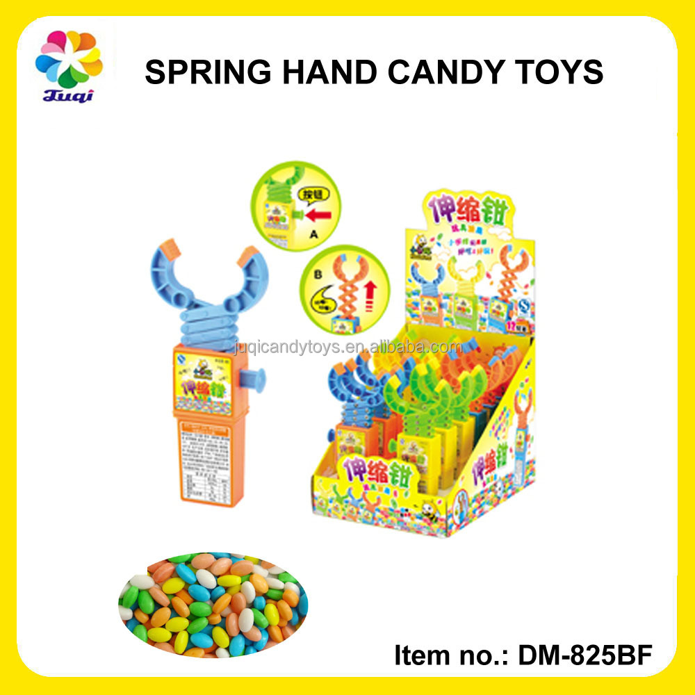 Small Candy Toys-Promotion Classic Grabber Candy with Sweet