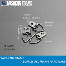 tsk024 small d ring hanger with one hole picture frame hanging hanger 10x32 mm
