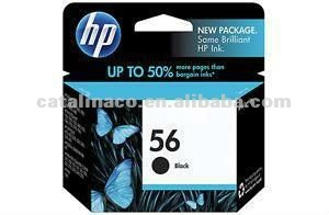 Original Genuine HP 56 57 Black / Color Printer Ink Cartridge C6656AA C6657AA