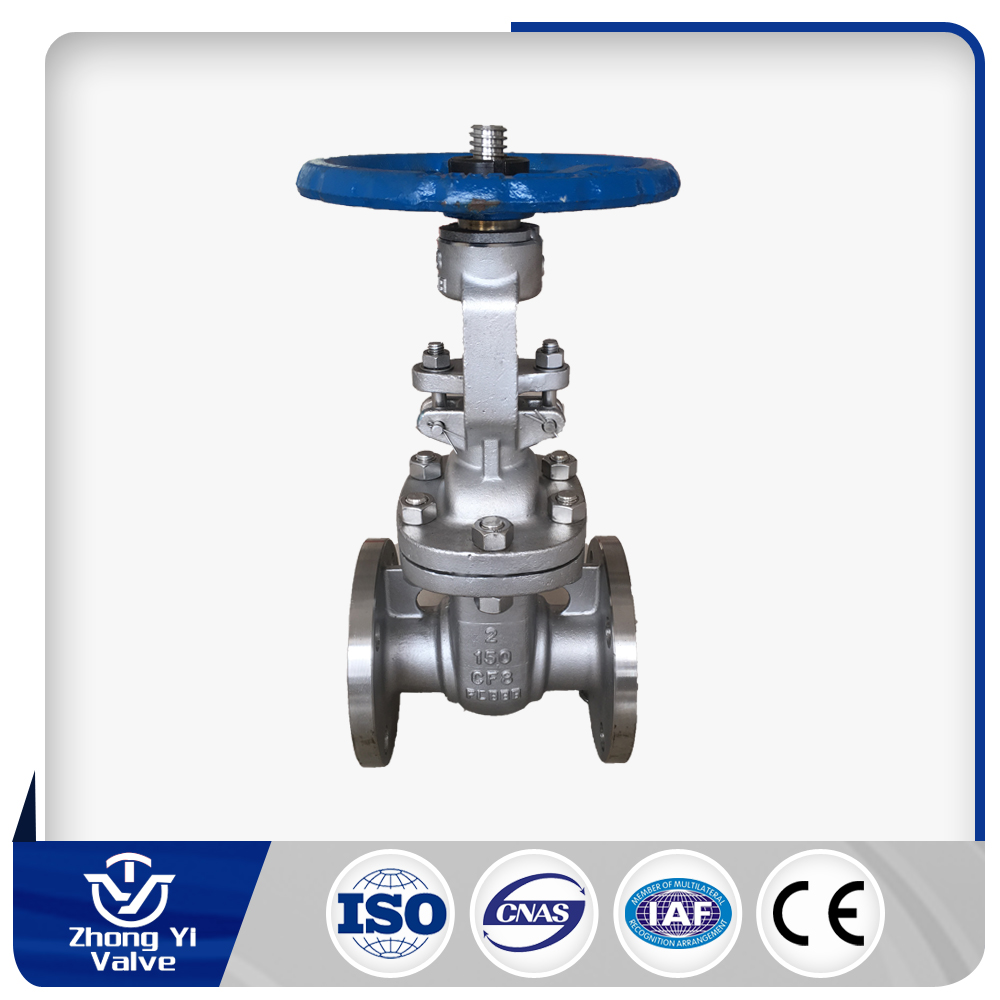 1/2 to 12 inch 316 Stainless Steel Gate Valve