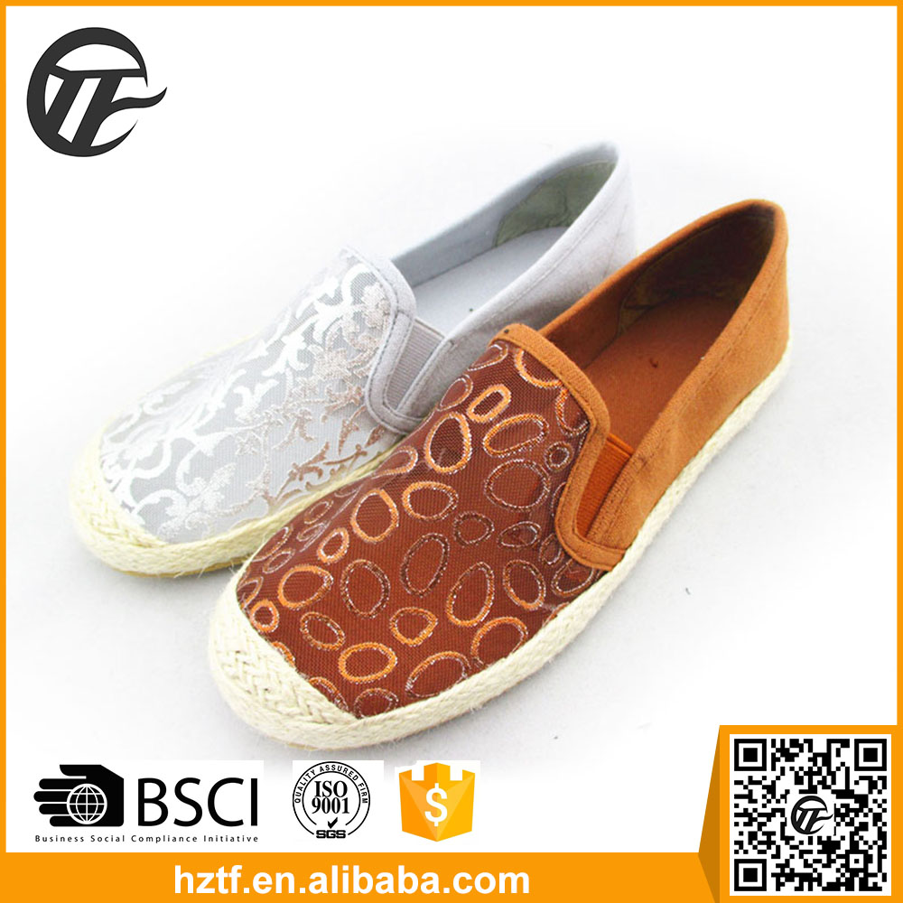 China Supply espadrilles shoes women