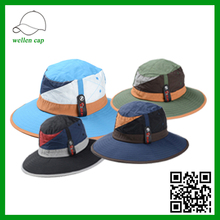 color split joint cheap folding bucket hat wholesale bucket hats for men and women
