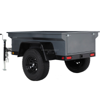 ATV Farm Log Trailer With Crane By kindleplate manufactures Trailers with 34 years Experience