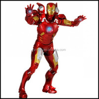 manufacturer custom plastic action figure;custom made ironman robot action figure;plastic action figure hero man for kids