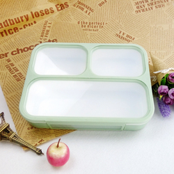 Completely Leak-Proof 3-Compartment lunch box food container