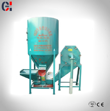 China supplier small hammer grinder and mixer machine for animal feed processing