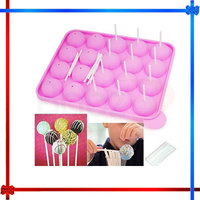 Non Stick Cake Pop Set Silicone Baking Tray Mould