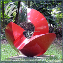 Stainless Steel Art Design Metal Garden Sculpture