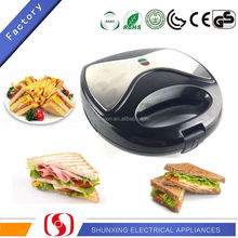 Hot selling portable 2 slice toasted sandwich maker