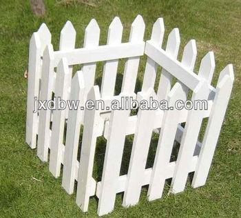 White Wooden Small Garden Fence Buy Small Garden Fence