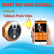 Smart home wifi and gsm video door phone