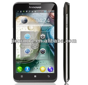 wholesale 5 inch lenovo A590 MTK6577 dual core android4.1 smart phone
