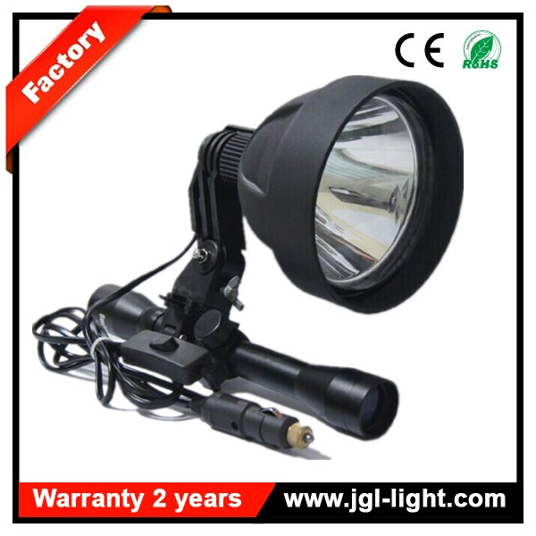 Super bright 12v 150mm CREE 15W LED Scope Mounted Hunting Rifle Spotlight gun shooting spotlight