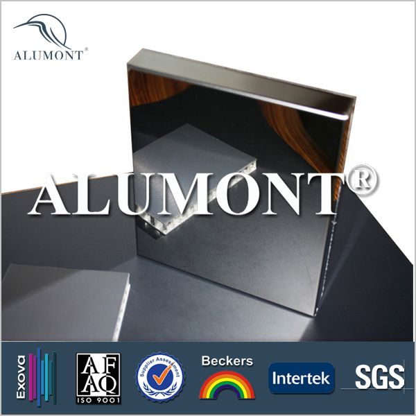 mirror finish acp decorative panel for kitchen cabinet and bathroom