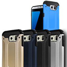 Wholesale shockproof slim armor pc and tpu cover case for samsung s7 for Samsung S6 edge Note4 Note5