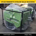 high quality Shanghai star straw baling machine, star small round baler for sale, MRB0870 hay and straw baler machine