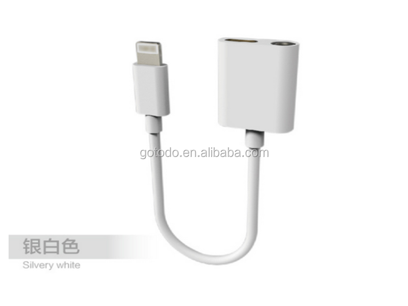 3.5mm headphone adapter for iphone 7 earphone aux headphone adapter