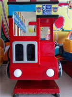 London Bus London red double decker bus coin operated car arcade game machine kiddie rides