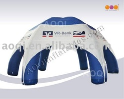 Commercial use giant inflatable 6-leg tent for show