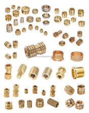 M6 brass molded inserts