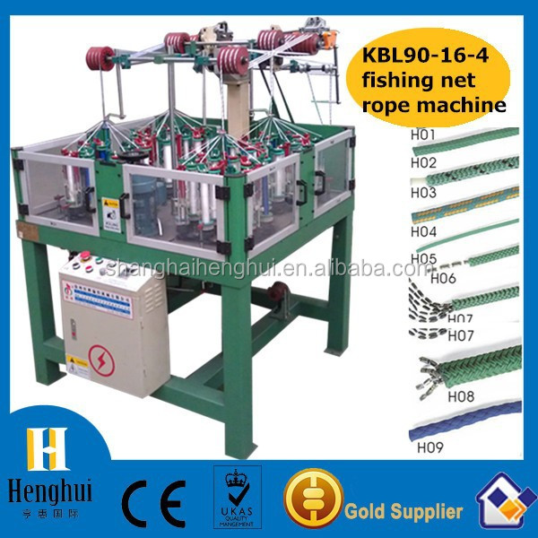 HDPE filament 280 denier braided twine machine