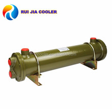 Die casting machinery hydraulic oil cooler fin tube heat exchanger
