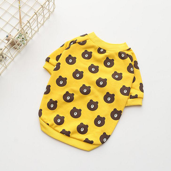 2017 New Fashion Pets Clothes Dogs Cute Casual T Shirts For Spring Summer