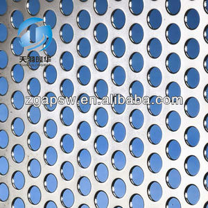 3mm thick Aluminium Perforated Metal Mesh sheet