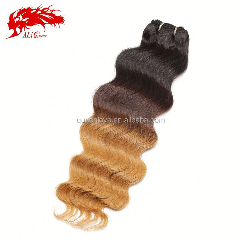 ombre bundles 100% unprocessed remy human extension wholesale price virgin indian natural sex hair