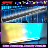 DJ Equipment Portable Led Light Bar 240*10mm DMX RGB Led Wall Washer