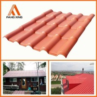 Light Weight PVC Roofing Materials Spanish Tile