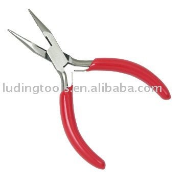 Box Joint Chain Nose Jewellery Pliers with Teeth and Cutter
