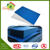 Good price corrosion resistance plastic pvc wavy roof tile