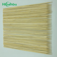 Natural round Good Hardness BBQ Bamboo Stick