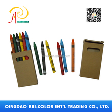 Children Safety Multi-color Six color Crayon