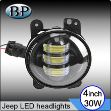 12V 24v 30w 4inch LED motorcycle accessories led headlight for harley davidson